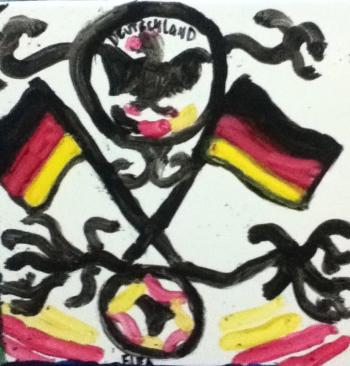 The Deutschland tile