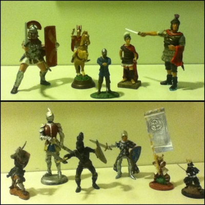 my army figures collection