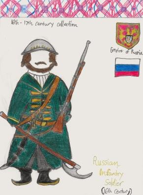 Russian Streltsy sketch (repost)