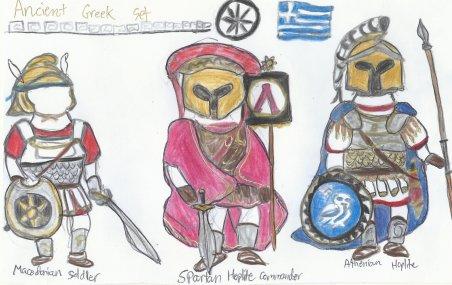 Ancient Greek set part I