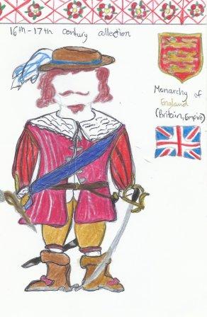 England- English cavalier musketeer