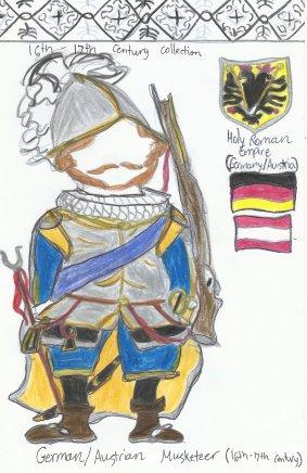 Germany/Austria- German heavy infantry soldier