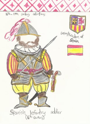 Spain- Spanish infantry soldier