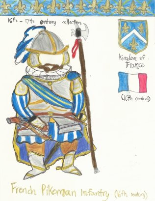 France- French heavy-infantry soldier