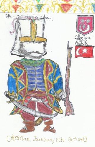 Turkey- Ottoman elite Janissary