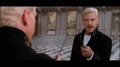 """Branagh Hamlet """"to be or not to be, that is the question"""""""