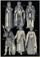 different types of Byzantine outfits