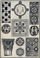 Assorted Byzantine patterns