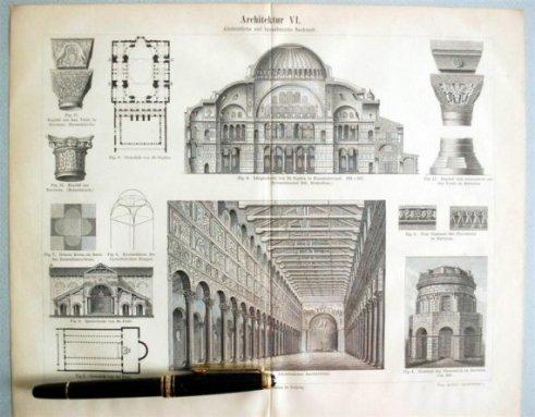 details on Byzantine architecture