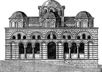 sample, Byzantine style church