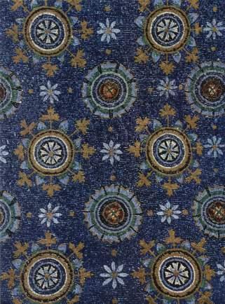 Byzantine pattern art