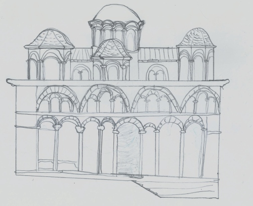 my sample, Byzantine style cathedral