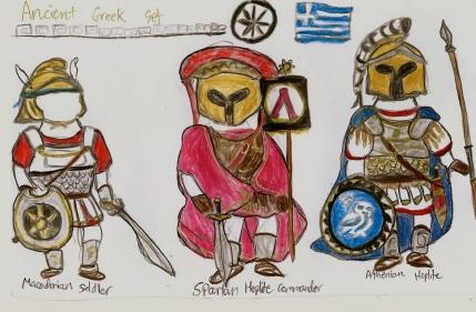 3 types of hoplites