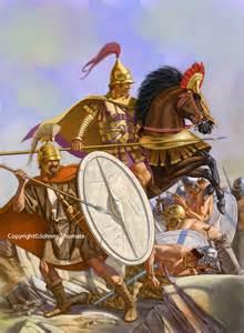 Seleucid cavalry soldiers