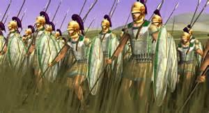 Egyptian infantry men
