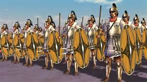 Carthaginian infantry soldiers