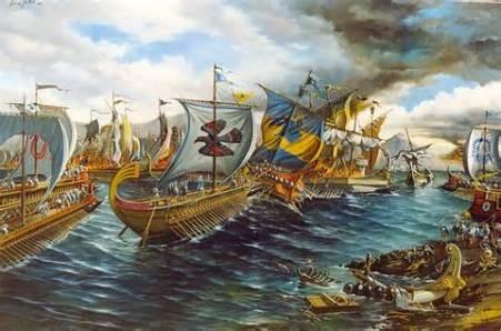 the Greek navy