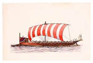 sample bireme ship