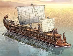 same trireme ship