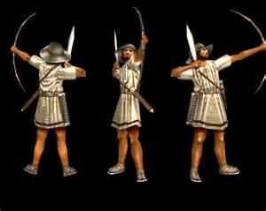 Greek archer sample