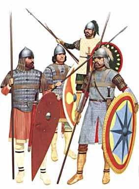 early Byzantine army units