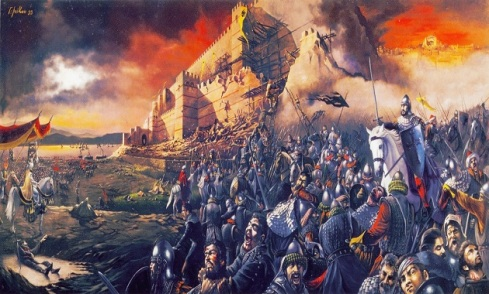 fall of Constantinople, 1453
