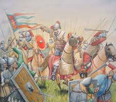 Byzantine cavalry charge