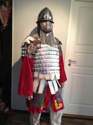 full Byzantine Varangian armour