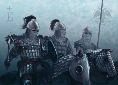 Cataphract cavalry, elite forces with different weapon types