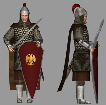 sample Byzantine captain