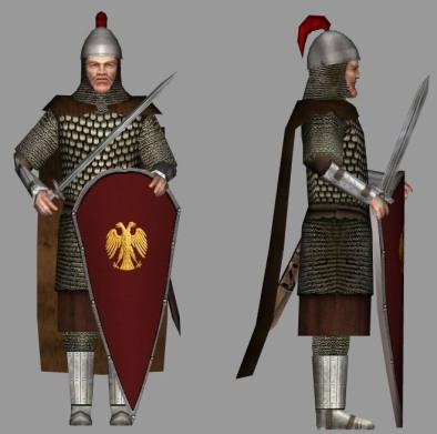 Byzantine Kentarches (centurion)