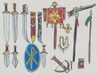 Byzantine weapon set part2