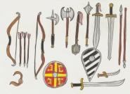 Byzantine weapon set part1