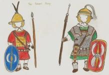 Early Roman units- Hastati and Auxilia