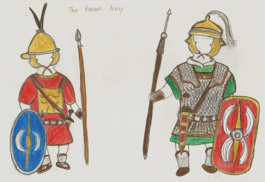 early Roman units- triarii and auxilia
