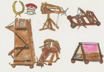 Roman siege weapons