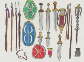 Roman weapons part 1
