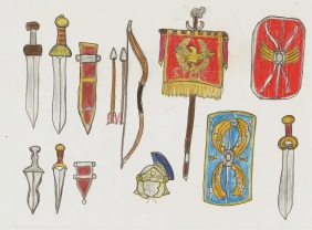 Roman weapons and insignias part2