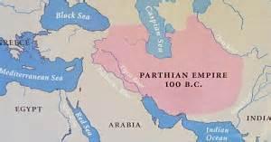 map of Parthian Empire