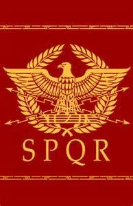 The Roman army standard