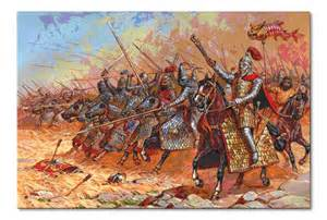 Parthian cavalry at battle