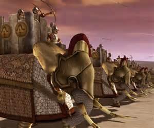 Parthian war elephants