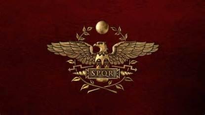 SPQR Roman Empire flag