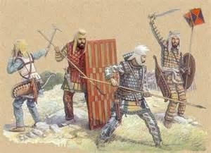 Persian army at battle