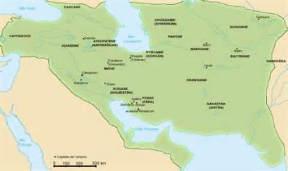 full extent of Sassanid empire
