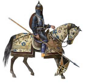 Sassanid cavalry man