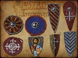 types of Byzantine shields