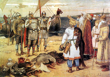 Byzantine and Varangian forces
