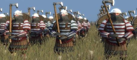 Varangians at battle
