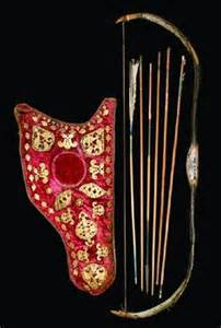 Ottoman Turkish bow and arrows